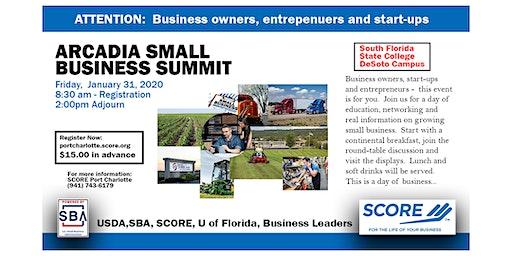 Arcadia Small Business Summit