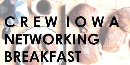 CREW Iowa - Kick-Off 2020! Networking Breakfast