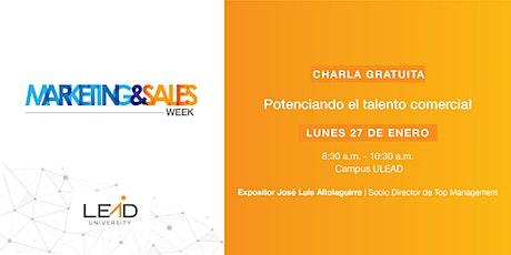Marketing & Sales Week  - Potenciando el Talento Comercial tickets