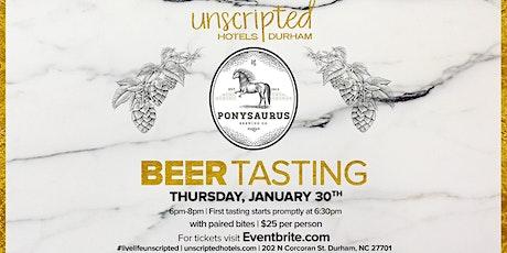Beer Tasting presented by Ponysaurus Brewery tickets