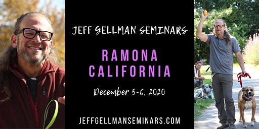 Ramona/San Diego, California - Jeff Gellman's 2 Day, Problem Solving, Dog Training Seminar