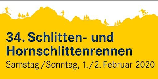 Schittelrennen 1. Februar 2020 Braunwald für jedermann und Firmen / Vereine