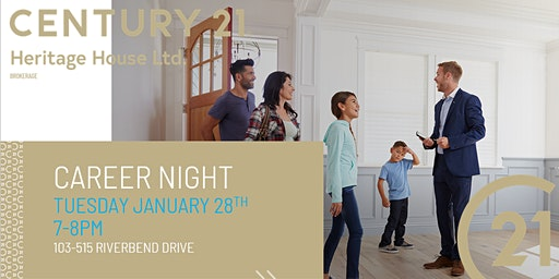 Century 21 - Career Night - Learn what it takes to be a Realtor!