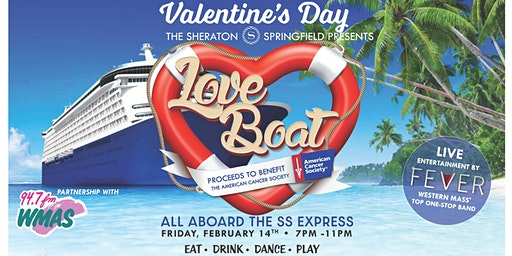 The Love Boat Valentine's Day Fundrasier to Benefit American Cancer Society