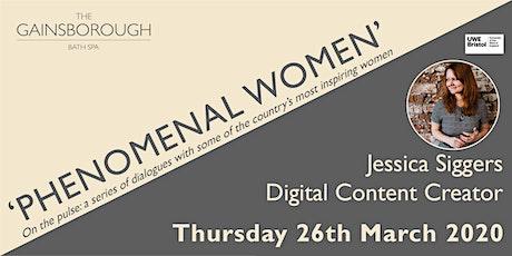 'Phenomenal Women' 2020: Jessica Siggers tickets