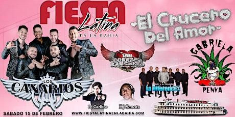 Fiesta Latina En La Bahía | El Crucero Del Amor tickets
