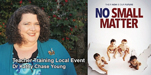 """No Small Matter"" Teacher Training and Documentary Screening"