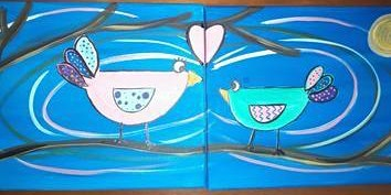 Parent Child Paint Event