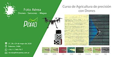 Curso de Agricultura de ¨Precisión con Drones entradas