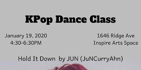 Kpop Dance Class tickets
