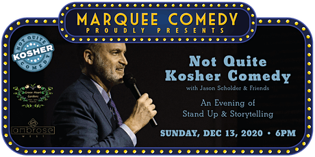 3rd Annual Not Quite Kosher Comedy Night at Ambrose West tickets