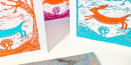 Lino cut & print - Hoylake Wirral tickets