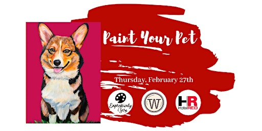 Paint Your Pet at Hotel Red