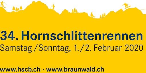 34. Hornschlittenrennen 2020 Braunwald