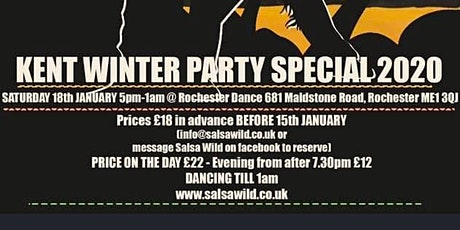 KENT WINTER PARTY SPECIAL 2020 tickets