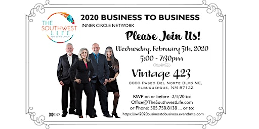 The Southwest Life - 2020 Business to Business Event