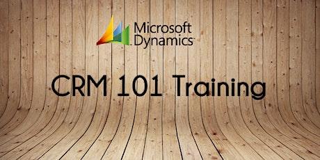 CRM 101 Training tickets
