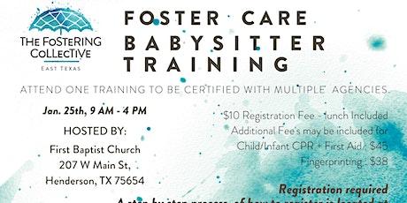 Foster Care Babysitter Training tickets