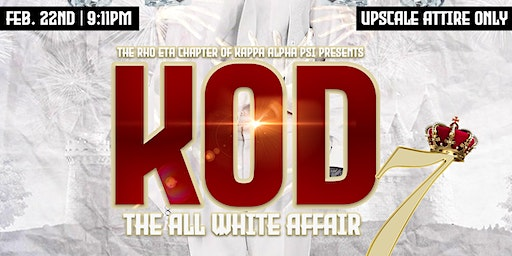 King Of Diamonds 7 The All White Affair