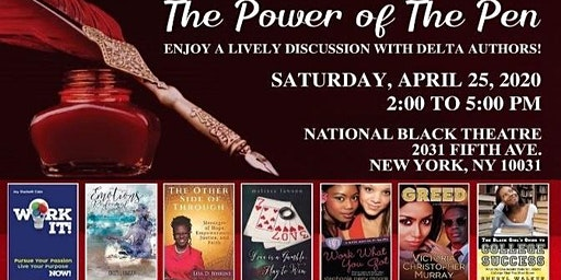 Delta Authors on Tour in the Eastern Region Hosted by New York Alumnae