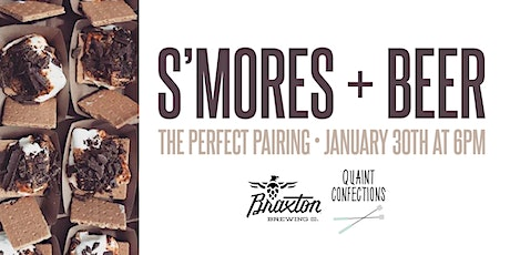 S'mores & Beer Pairing tickets