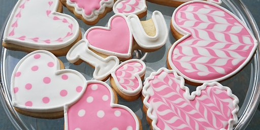 Valentines Cookie Class at Long Acre Farms! Wine Included!