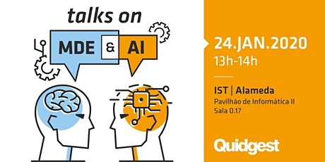 Talks on Model Driven Engineering and Artificial Intelligence Approaches tickets