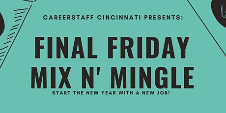 Final Friday Mix & Mingle tickets