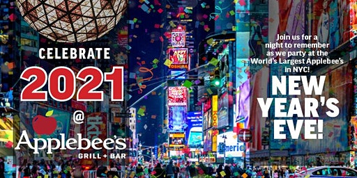 All-Inclusive New Year's Eve Party in the Heart of Times Square (42nd St.)