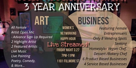 Sister Sessions Network  3 Year Anniversary- Networking Happy Hour tickets
