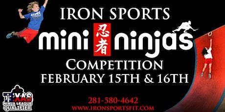 Mini Ninja Competition tickets