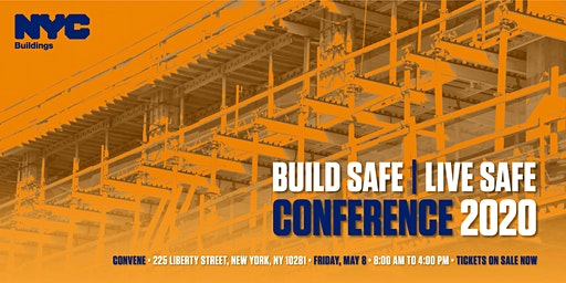NYC Department of Buildings 2020 Build Safe|Live Safe Conference