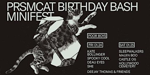 Prsmcat Birthday Bash Minifest