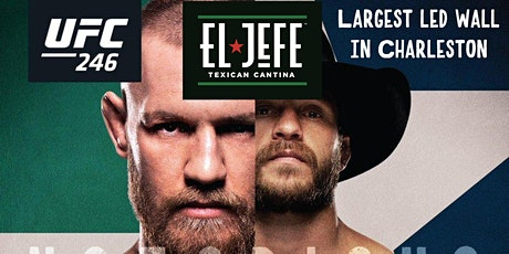 UFC McGregor vs Cowboy tickets