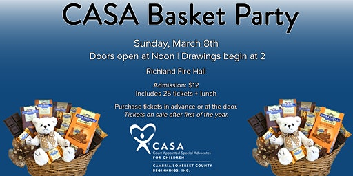 CASA Basket Party
