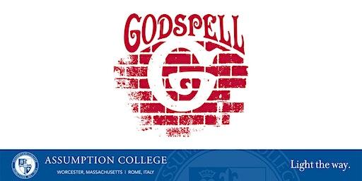 Assumption College Presents Godspell (Saturday Performance)