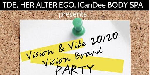 Vision & Vibe 2020 Vision Board Party