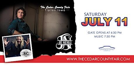 Joe Nichols at The Cedar County Fair tickets
