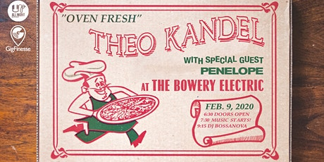 Theo Kandel with penelope and Bossanova tickets