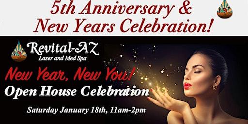 5th Anniversary & New Years Celebration
