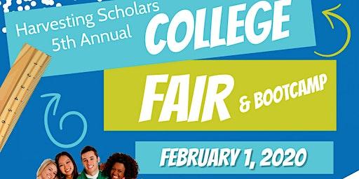 Harvesting Scholars 5th Annual College Fair