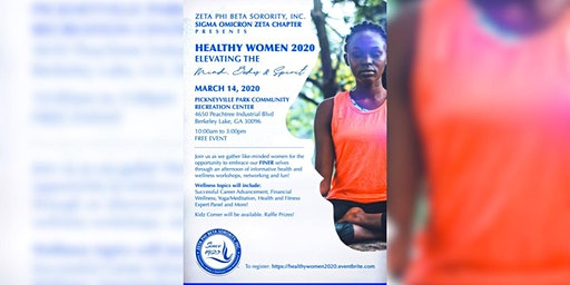 Healthy Women 2020: Elevating the Mind, Body & Spirit
