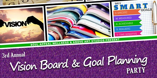 3rd Annual Vision Board Party