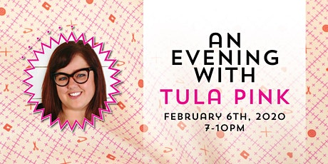 An Evening with Tula Pink - Hosted by Pink Door Fabrics tickets