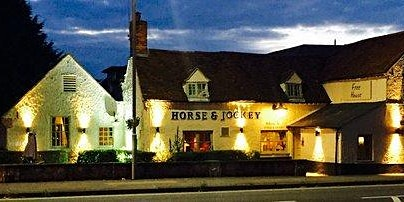 Psychic Supper Horse & Jockey   Aylesbury