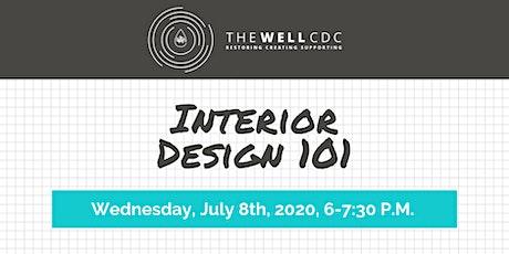 Home Maintenance Class: Interior Design 101 tickets