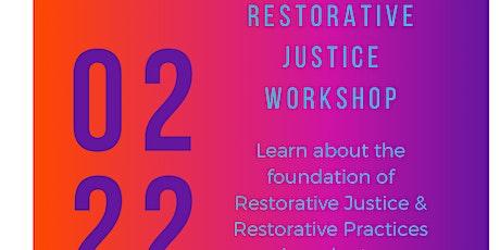 Dr. Jones' One Day Restorative Justice Workshop tickets