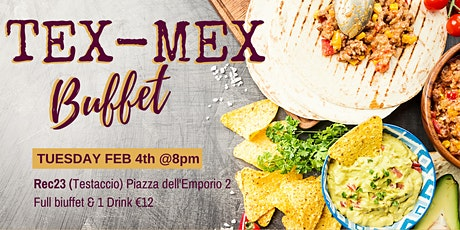 Rome Expats TEX MEX and Mix Night! biglietti