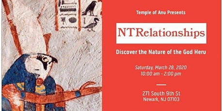 NTRelationships: Discover the Nature of the God Heru tickets