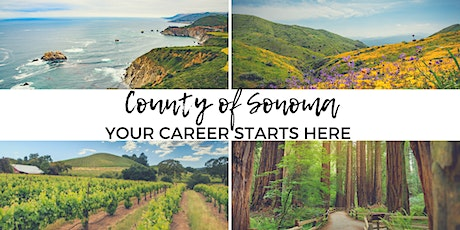 Start Here! - Learn About the County of Sonoma's Application Process at Job Link, 1/29/20 tickets